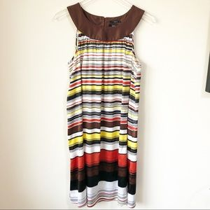 🌸 Style & Co   Brown striped dress
